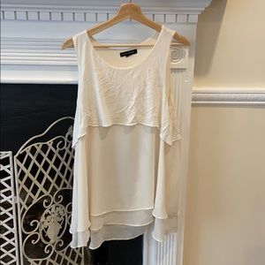 Banana Republic Tiered Blouse